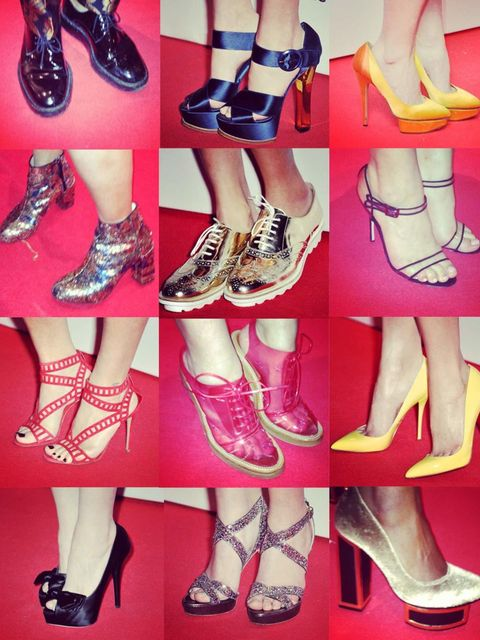 <p>It's true that when it comes to the red carpet it's really all about the dresses. However, we have a serious weakness when it comes to shoes so at this week's ELLE Style Awards we had a dedicated Shoecam so that we could get up close and personal with