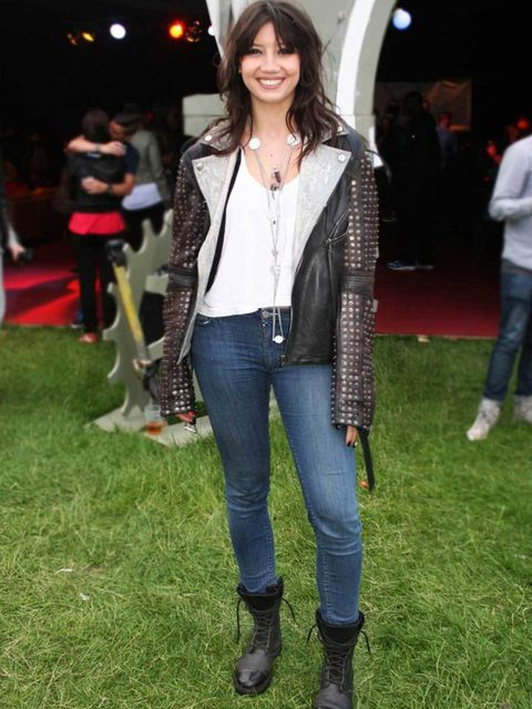 <p>Daisy Lowe, 23, Model. McQueen jacket, American Apparel top, Acne jeans and boots, Chanel necklace, Tom Binns rings.</p><p>Photos by Lisa Rahman & Nikki McClarron</p>
