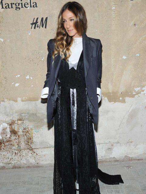 <p>Sarah Jessica Parker at the Maison Martin Margiela for H&M launch</p>