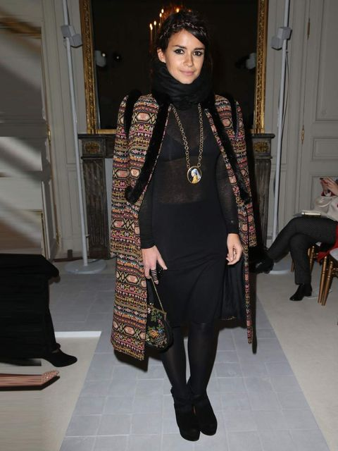 """<p>Miroslava Duma at the <a href=""""http://www.elleuk.com/catwalk/designer-a-z/valentino/couture-ss-2013/collection"""">Valentino Couture Spring Summer 13</a> show.</p>"""