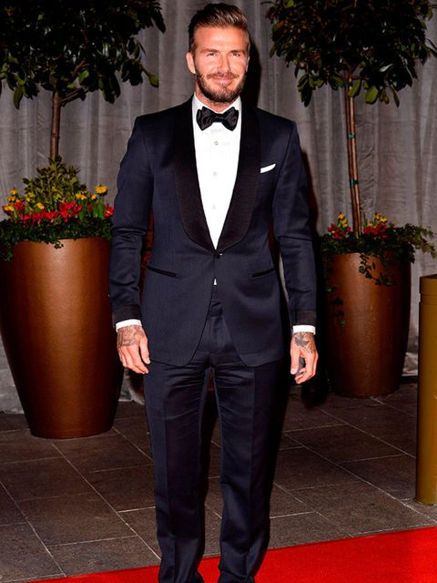 <p>David Beckhamattends the EE BAFTAs After Party, February 2015.</p>
