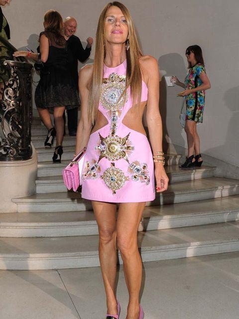 <p>Anna Dello Russo at Christian Dior Couture AW12</p>