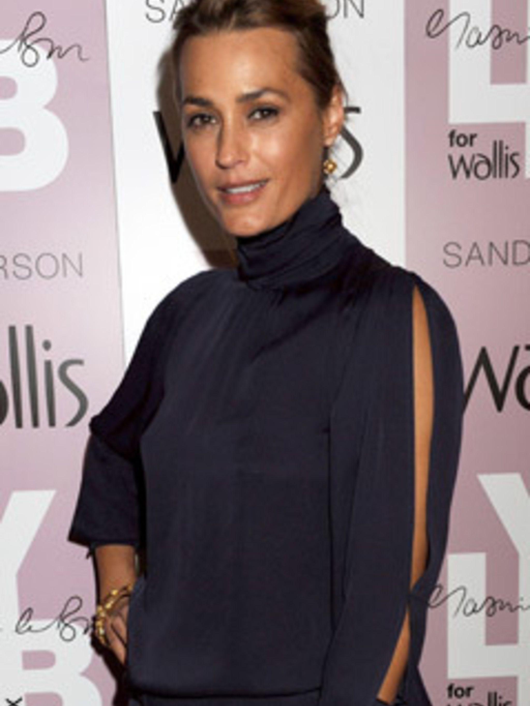 Yasmin Le Bon models her new Wallis collection