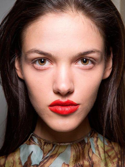 <p>Felder + Felder</p>  <p>The look:Lux Lisbon from The Virgin Suicides.</p>  <p>Make-up artist: Attracta Courtney</p>  <p>Key products: Bobbi Brown Skin Foundation Stick,Sunset Orange Art Stick, Jenna Creamy Matte Lip Color and Red Lip Liner.</p>  <p>
