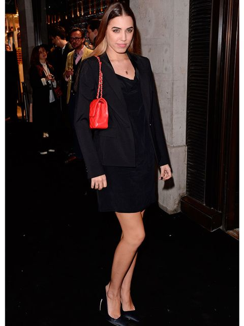 <p>Amber Le Bon at the Karl Lagerfeld Store and Fragrance launch party </p>