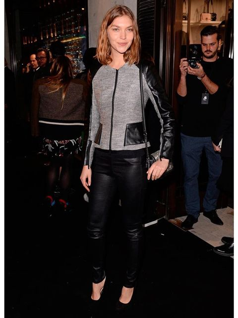 <p>Arizona Muse at the Karl Lagerfeld Store and Fragrance launch party </p>