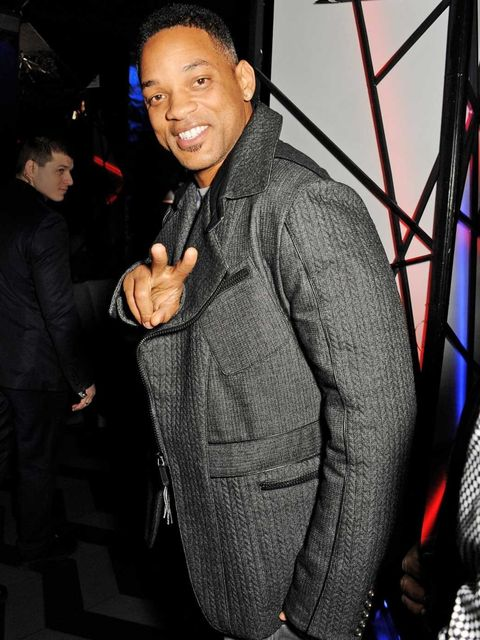 <p>Will Smith at DSTRKT for Rihanna's River Island launch party</p>