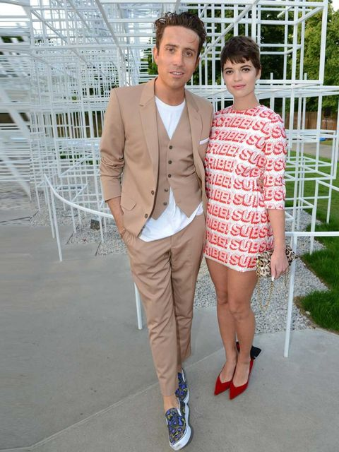 "<p>With ELLE fave <a href=""http://www.elleuk.com/elle-tv/cover-stars/elle-magazine/pixie-geldof-elle-behind-the-cover-video"">Pixie</a> at super-stylish Serpentine summer party.</p>"