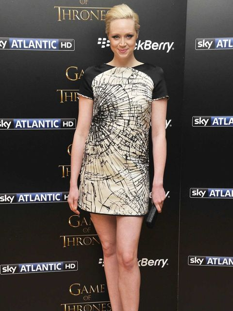 <p>Gwendoline Christie at the Game of Thrones season 3 screening in London</p>