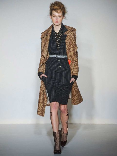 <p>To the knee at Vivienne Westwood Autumn 12</p>
