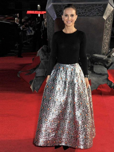 "<p>ELLE cover star <a href=""http://www.elleuk.com/star-style/celebrity-style-files/natalie-portman-style-file-best-outfits-pictures-christian-dior"">Natalie Portman</a> in Christian Dior at the world premiere of <em>Thor: The Dark World</em>.</p><p><em><a"