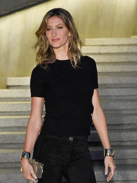 Gisele Bundchen attends the Chanel Cruise 2015/16 show in Seoul, May 2015.