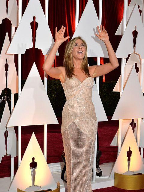 <p>Jennifer Aniston was <em>seriously</em> impressed by the lighting.</p>