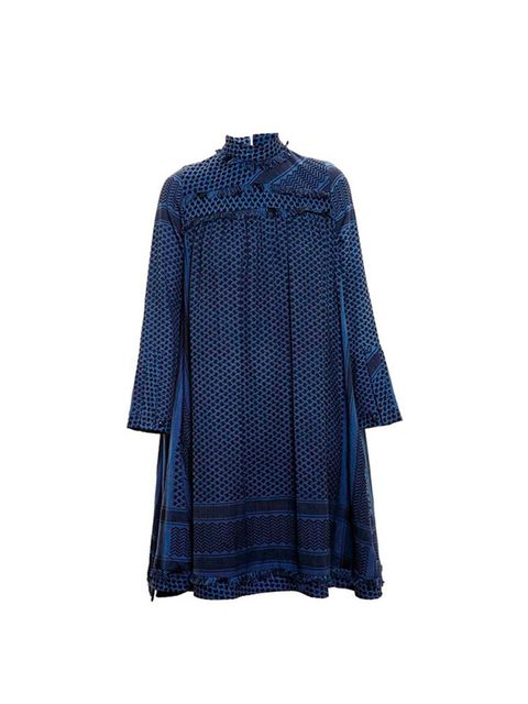 "<p><a href=""http://www.brownsfashion.com/product/03C309820002/039/high-neck-keffiyeh-dress"" target=""_blank"">Cecile Copenhagen</a> dress, £200 available at browns.com</p>"