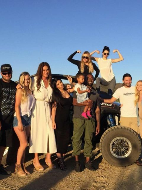 Caitlyn Jenner (@caitlynjenner)Great day yesterday for Father's Day. We had so much fun off-roading. So much love and support! Love my family!