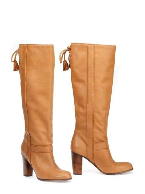 """<p><a href=""""http://www.comptoirdescotonniers.com/eng/collection-acc-A11_EN.aspx"""">Comptoir des Cotonniers</a> leather knee high boots, £239</p>"""