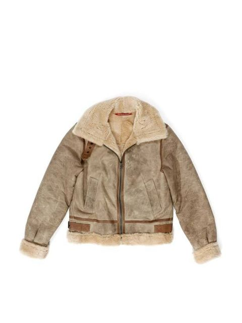<p>Comptoir des Cotonniers aviator jacket, £998, for stockists call 0207 792 9580</p>