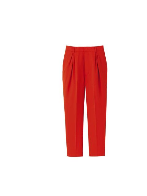 "<p>Designer Invitation Project cropped trousers, £29.90, at <a href=""http://www.uniqlo.com/uk/"">www.uniqlo.com</a></p>"