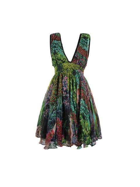 "<p>Stolen Girlfriends Club 'Acid Doll day' dress, £465, at <a href=""http://www.coggles.com/item/Stolen-Girlfriends-Club/Acid-Doll-Day-Garden-Dress/A0HF"">coggles.com</a></p>"