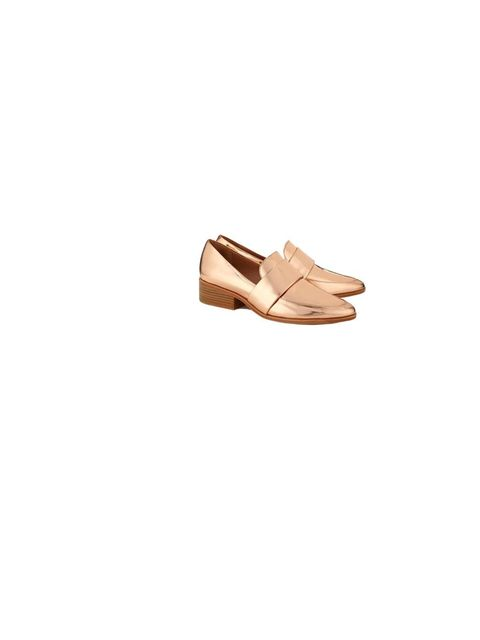 "<p>3.1 Phillip Lim loafers, £380, at <a href=""http://www.avenue32.com/designers/phillip-lim/40mm-rose-gold-quinn-loafers-33701.html"">Avenue32.com</a></p>"
