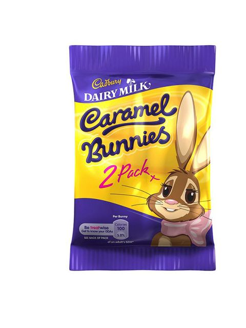 """<p><strong>Treat: <a href=""""http://www.cadburygiftsdirect.co.uk/products/603-caramel-bunnies-40g.aspx"""">Cadbury Caramel Bunnies</a></strong></p><p><strong>Calories: 100 Calories per bunny</strong><strong>Activity: Bowling</strong><strong>Time: 30 minutes</s"""