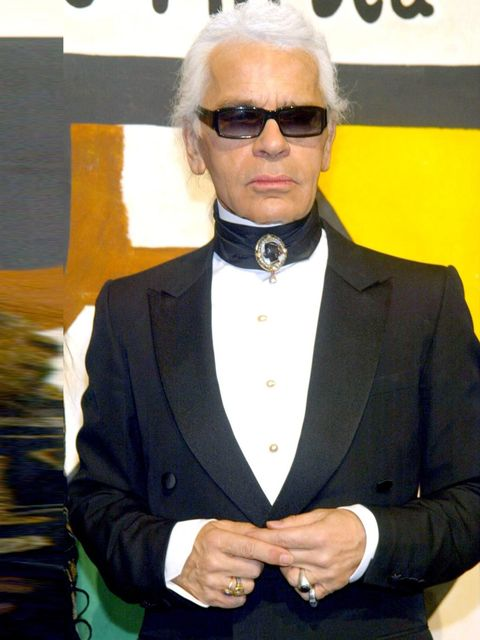 """<p>'I don't need to shop for food because I never eat.'</p><p>Karl Lagerfeld, pictured in 2003.</p><p><a href=""""http://www.amazon.co.uk/World-According-Karl-Wisdom-Lagerfeld/dp/0500517118/ref=sr_1_1?s=books&amp;ie=UTF8&amp;qid=1379674268&amp;sr=1-1&amp;key"""