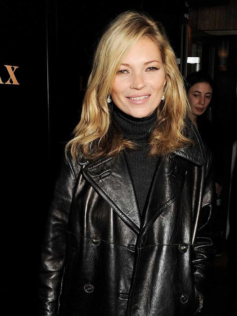 <p>Kate Moss at the Leon Max party</p>