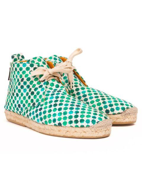 <p>Penelope Chilvers & Saloni 'Espadrille' boots</p>