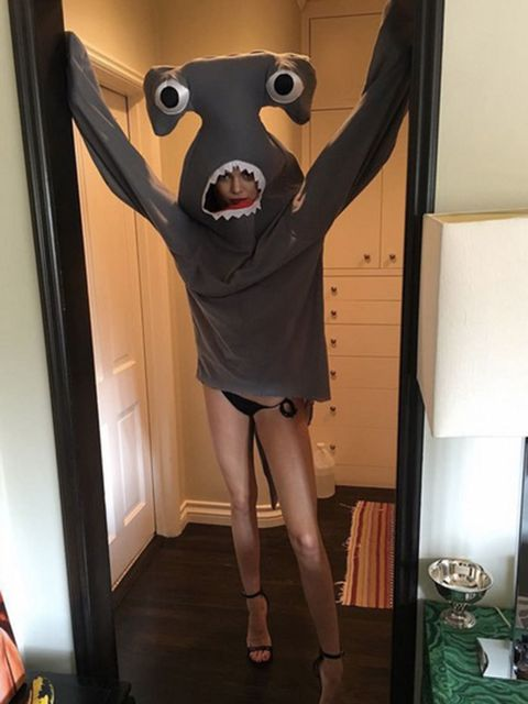Kendall Jenner's getting prepped for Love Magazine's annual advent calendar. Left shark? #loveadvent
