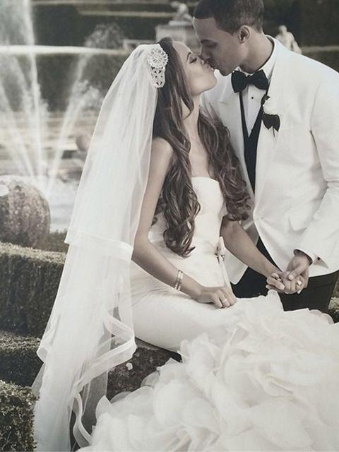 <p>#10</p>  <p>The bride: Rochelle Humes</p>  <p>The caption: None</p>  <p>Likes: 2.8k</p>