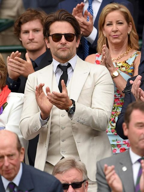 Bradley Cooper at Wimbledon 2015 in London.