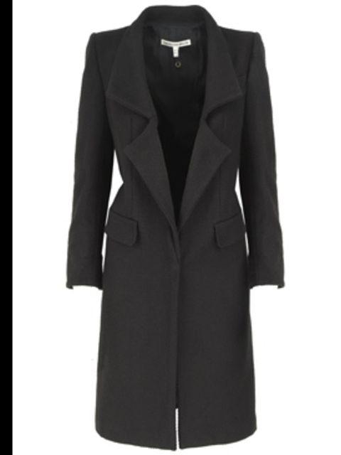 <p>Black 'Crombie' coat £375 by Twenty8Twelve, for stockists call 0207 221 9287</p>