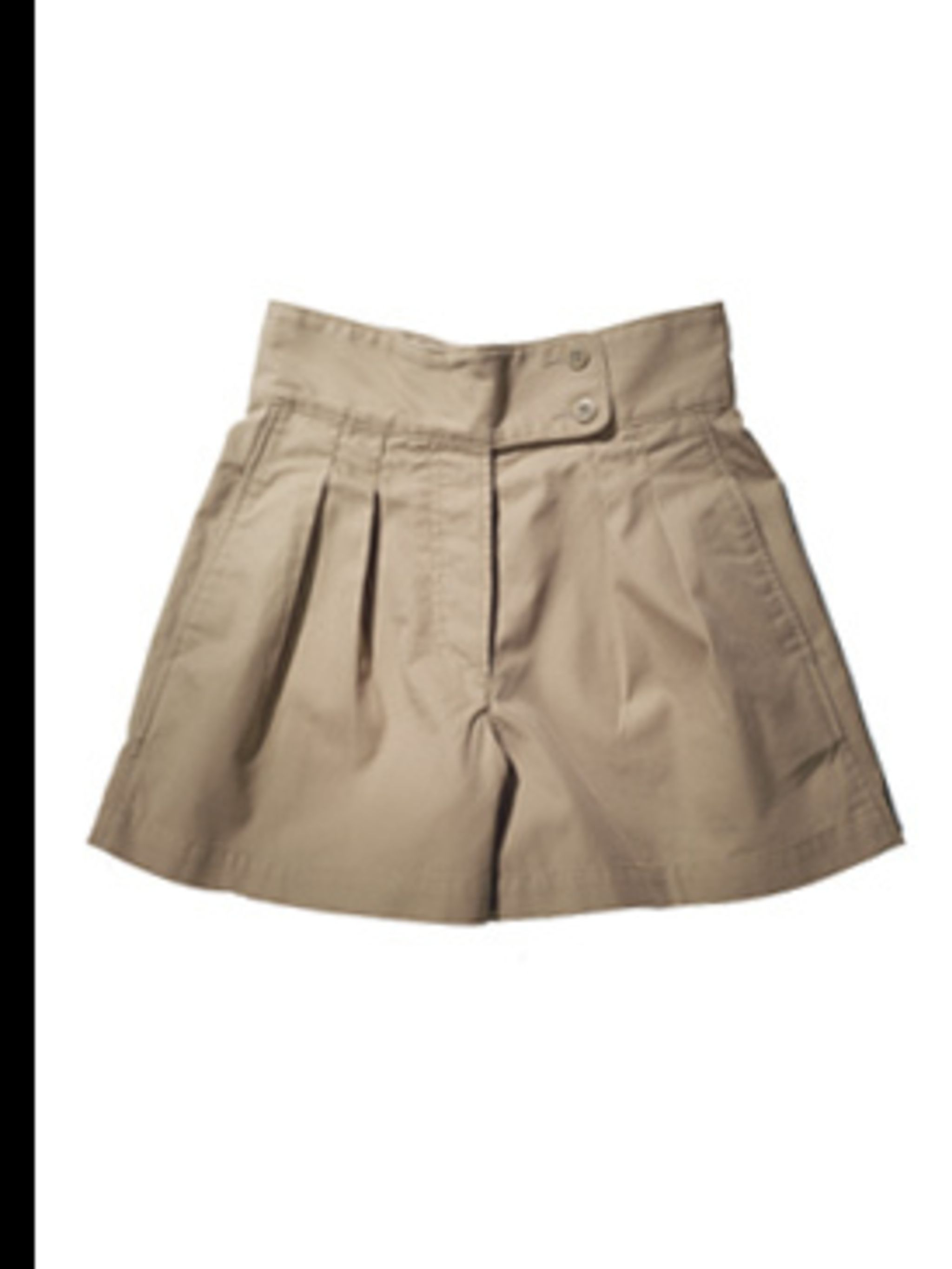 <p>Cotton skirt from short, £29.50 by Gap, for stockists 0800 427 789</p>