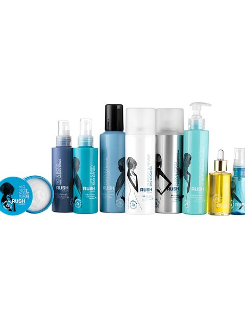 "<p><a href=""http://www.marksandspencer.com/l/beauty/rush-haircare"" target=""_blank"">Rush Salon Styling Collection, from £5</a></p>  <p>From nourishing oils to dry shampoo, Rush's collaboration with Marks and Spencer contains the ultimate collection of prod"