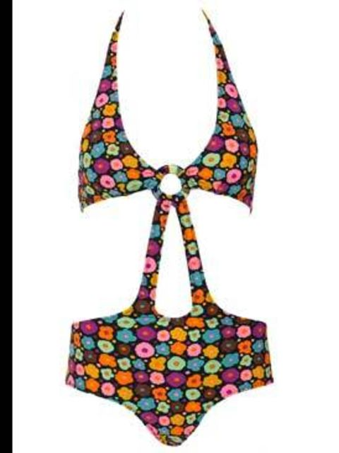 <p>Twiggy swimsuit £149 by Pistol Panties, for stockists call 020 7229 5286</p>