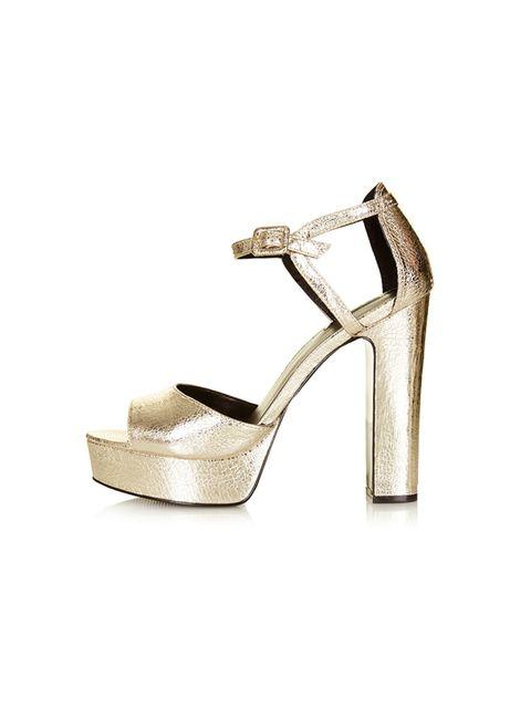 "<p><a href=""http://www.topshop.com/en/tsuk/product/clothing-427/new-season-style-3273429/lena-metallic-platform-sandals-3839686?bi=21&ps=20"" target=""_blank"">Topshop</a> platform sandals, £56</p>"