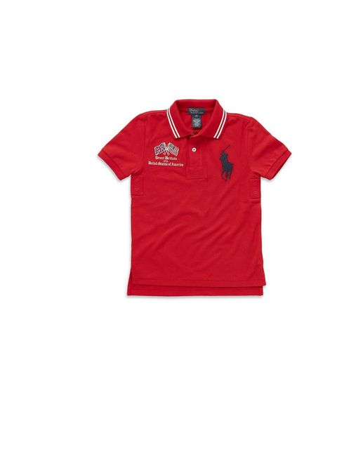 "<p>Ralph Lauren 'Summer Sport Big Pony' polo shirt  £90, at <a href=""http://www.harrods.com/product/olympic-big-pony-polo-shirt/ralph-lauren/000000000002773854"">Harrods.com</a></p>"