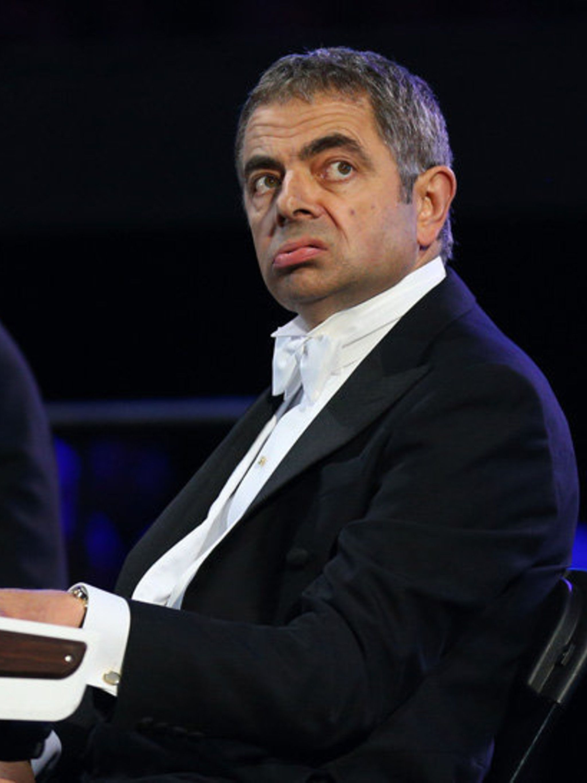 <p>Mr Bean at the Olympics opening ceremony</p>