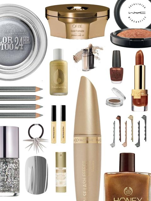 <p>With the Olympics in full swing we reveal the products you need to create medal-worthy beauty looks. All you need to decide is whether you want to strive for a bronze, silver or gold look? We've found a serum with 24k's for a golden complexion, Nails I