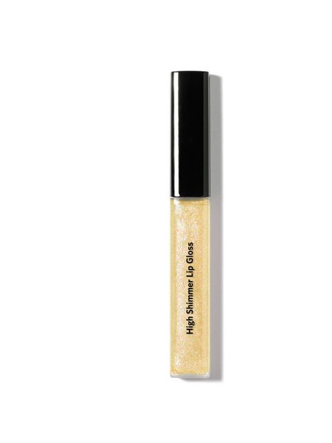 "<p><a href=""http://shopping.elleuk.com/browse?fts=bobbi+brown+shimmer+lip+gloss"">Bobbi Brown</a> Shimmer Lip Gloss in Confetti, £17</p>"