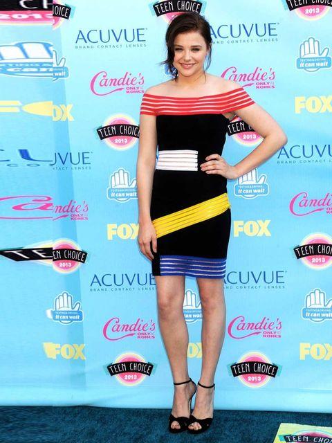 "<p><a href=""http://www.elleuk.com/star-style/celebrity-style-files/chloe-moretz"">Chloe Moretz</a> wears <a href=""http://www.elleuk.com/star-style/celebrity-fashion-trends/the-a-list-loves-christopher-kane"">Christopher Kane</a>.</p><p><em><a href=""http://w"