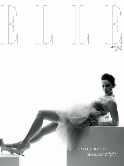 <p>ELLE May 2012 subscribers' cover</p>