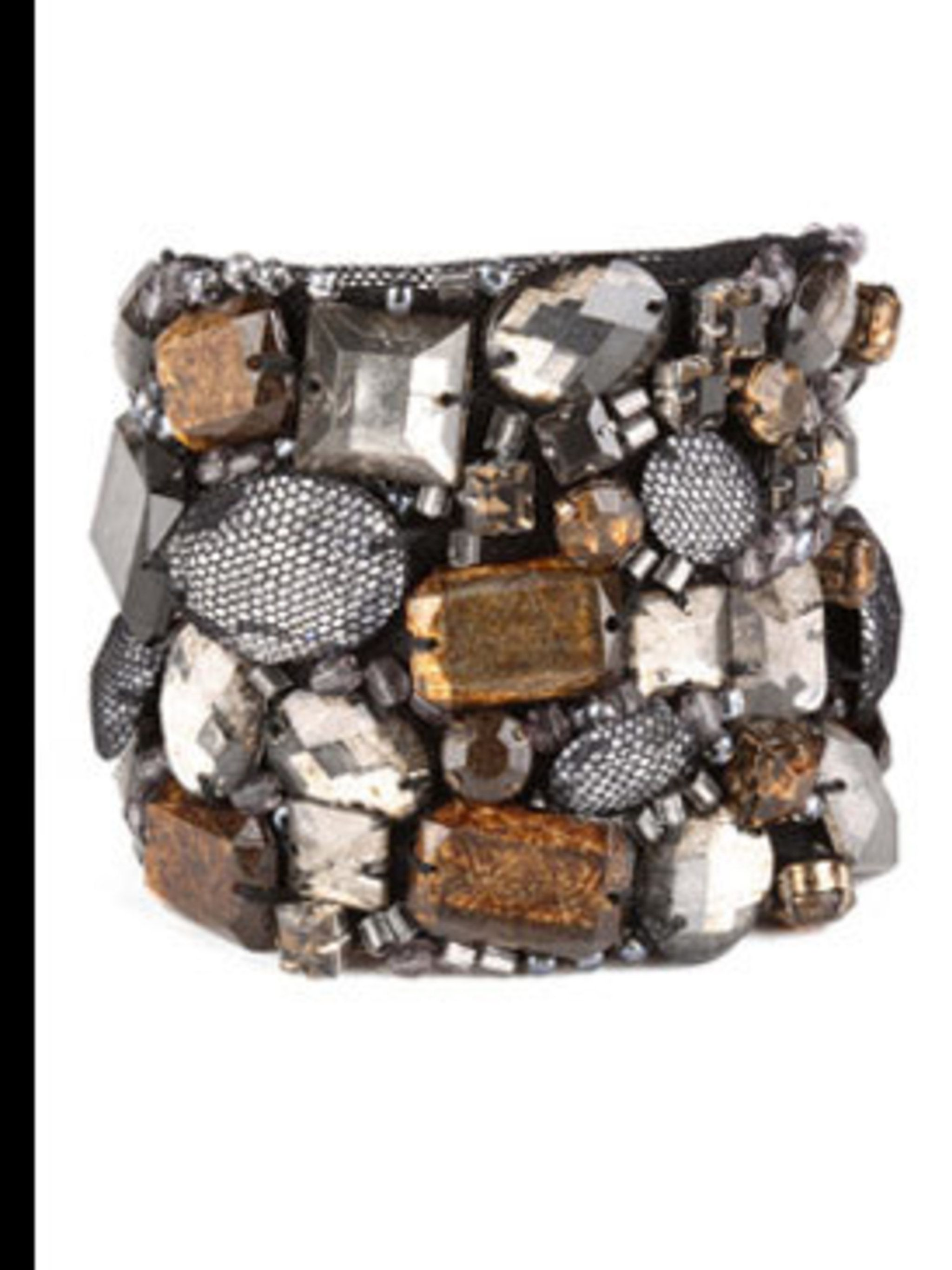 <p>Beaded bracelet £40 by Nougat, for stockists call 0207 323 2222</p>