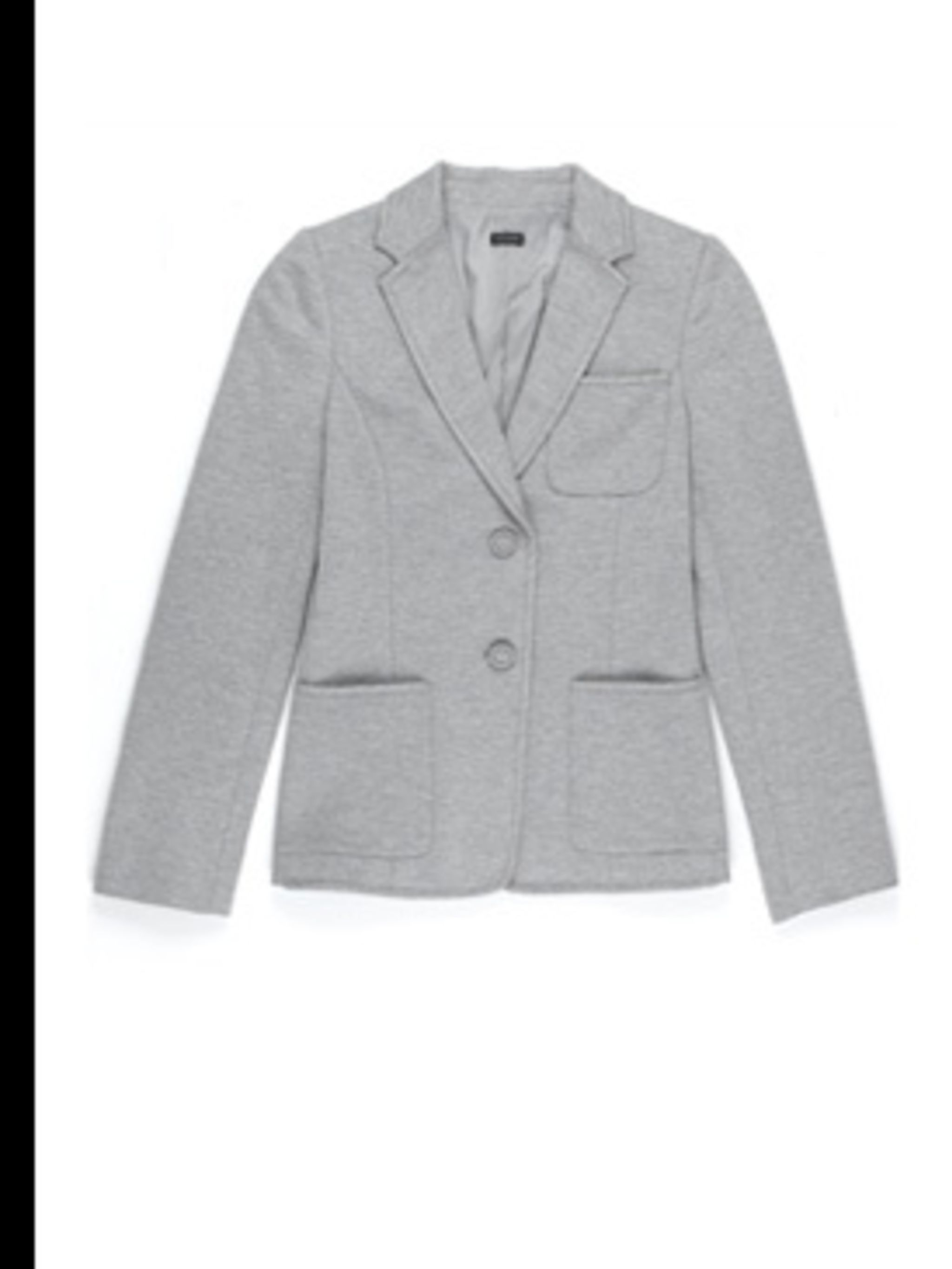 <p>Jersey jacket, £335 by Joseph, for stockists 0207 610 8441</p>