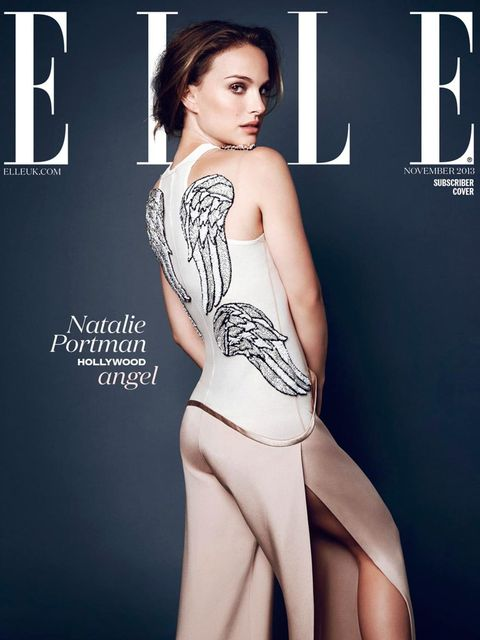 <p>Natalie Portman on ELLE's November 2013 subscriber cover</p>
