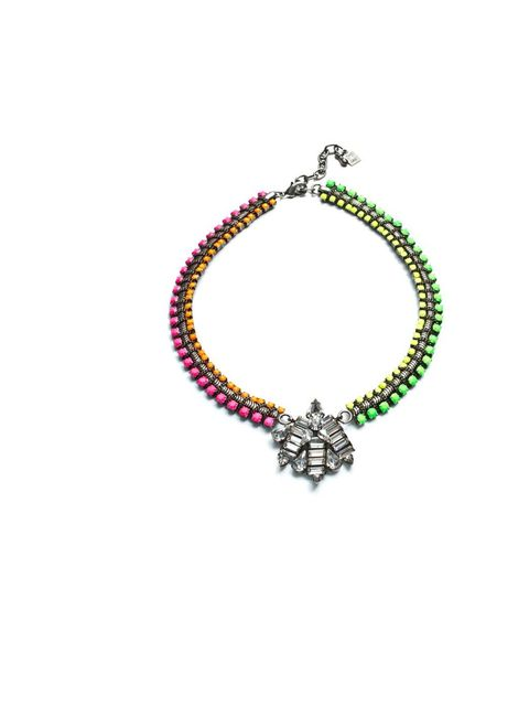 "<p><a href=""http://dannijo.com/"">Dannijo</a> 'Capucine' necklace, £280</p>"
