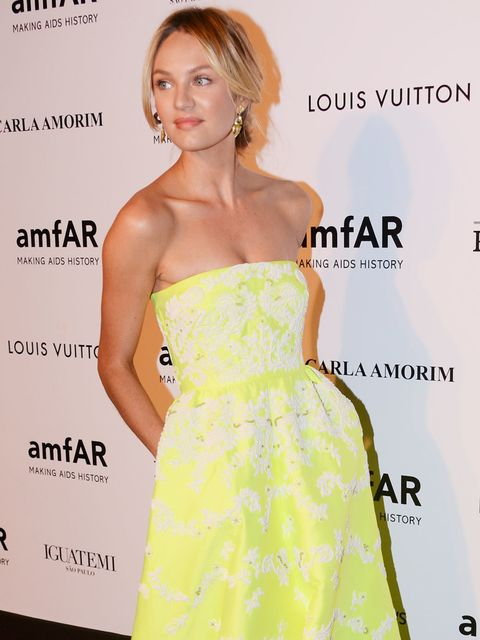 "<p>She's the angel in the million dollar <a href=""http://www.elleuk.com/fashion/news/first-look-victoria-secret-angel-candice-swanepoel-models-new-10million-royal-fantasy-bra-tyra-banks-gisele-buendchen-heidi-klum-alessandra-ambrosio-a"