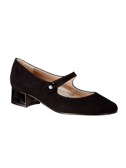 "<p><a href=""http://www.johnlewis.com/john-lewis-alice-block-heeled-mary-jane-courts-black-suede/p1991293?s_afcid=af_92295&awc=1203_1437410717_494db62ada4241b3f90736342cfe8428"" target=""_blank"">John Lewis</a> shoes, £65</p>"