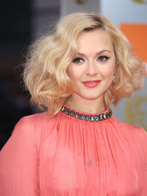 <p>Fearne Cotton at the Baftas 2012</p>