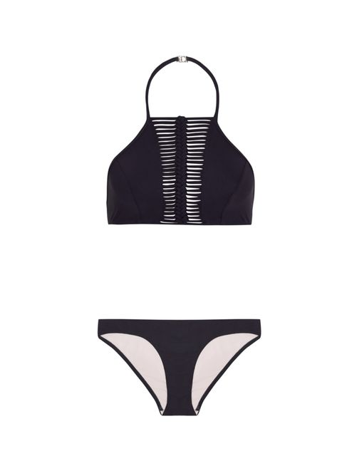 "<p>Zimmerman bikini, £215, available at <a href=""https://www.net-a-porter.com/product/602399/Zimmermann/cutout-halterneck-bikini"" target=""_blank"">Net-a-Porter.com</a>. </p>"